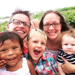 RGV Mom Blog Contributor Christy Swaringen and family