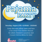 Pajamas and Storytime at Chick Fil A Pharr