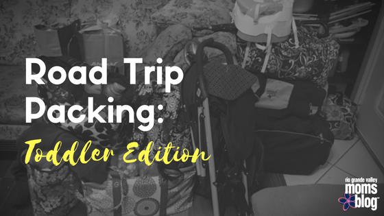 Roadtrip Packing-Toddler