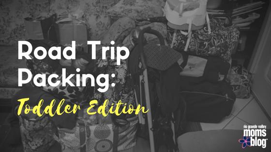 Roadtrip Packing-Toddler
