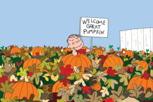 Peanuts Great Pumpking at Grace Heritage Ranch