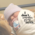 I Don't Remember Giving Birth {A Birthday Story}