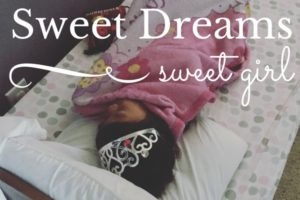 Sweet Dreams, National Adoption Awareness Month