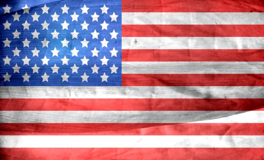 Vote. America. Old Glory.