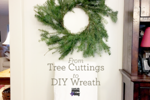 From Tree Cuttings to DIY Wreath