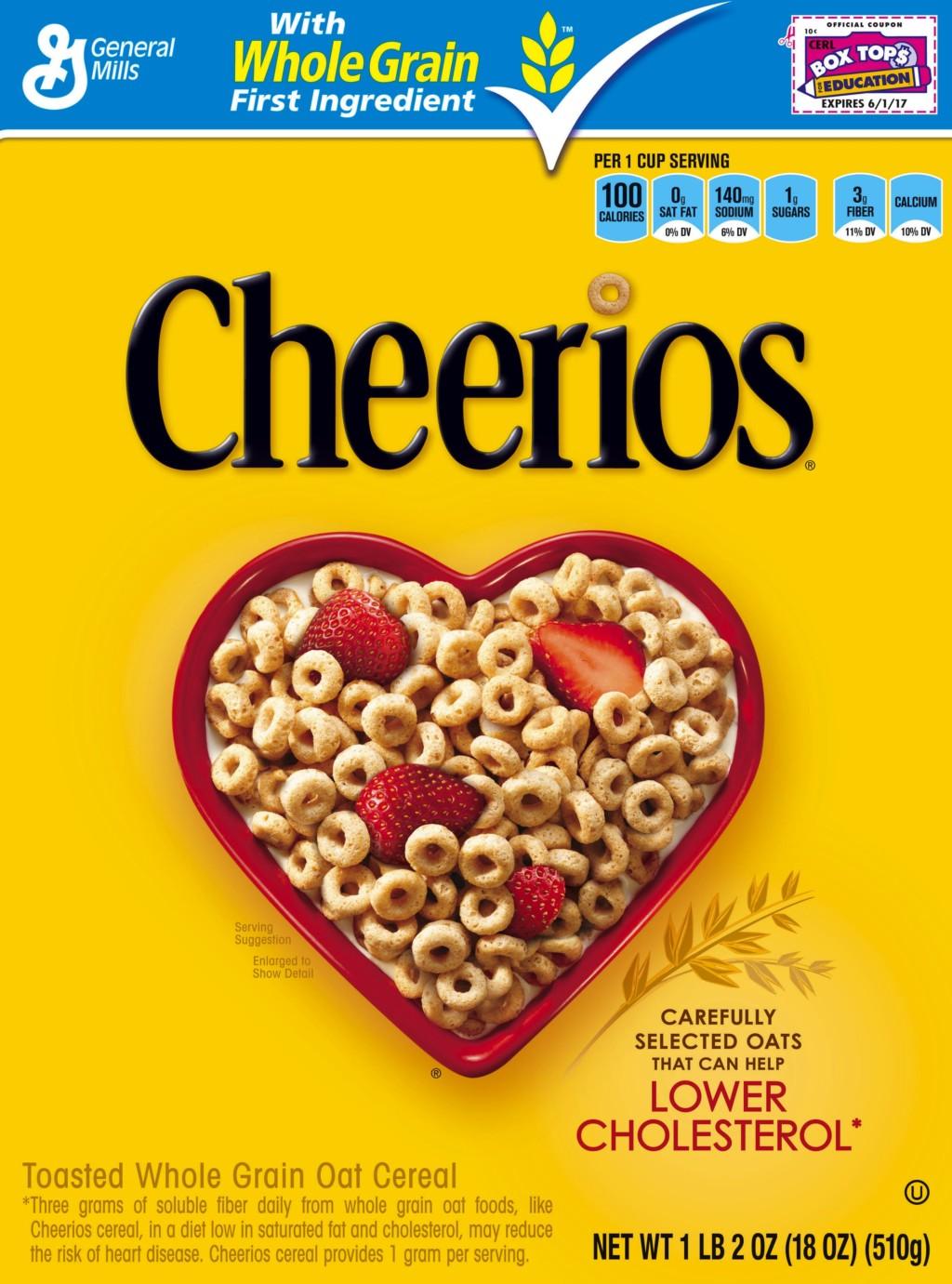 Box Tops 4 Education - Cheerios