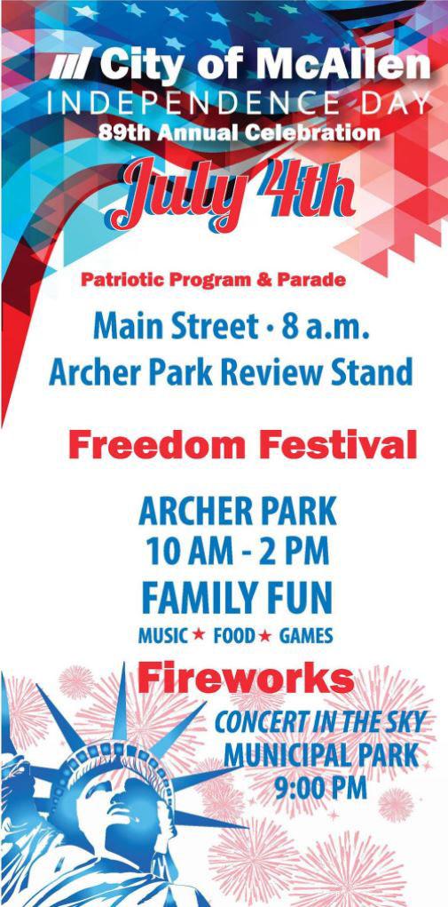 4th of July in McAllen - Freedom Festival