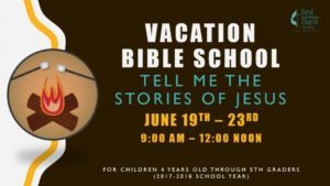 Tell me the Stories of Jesus First United Methodist Church (FUMC) - McAllen VBS RGV