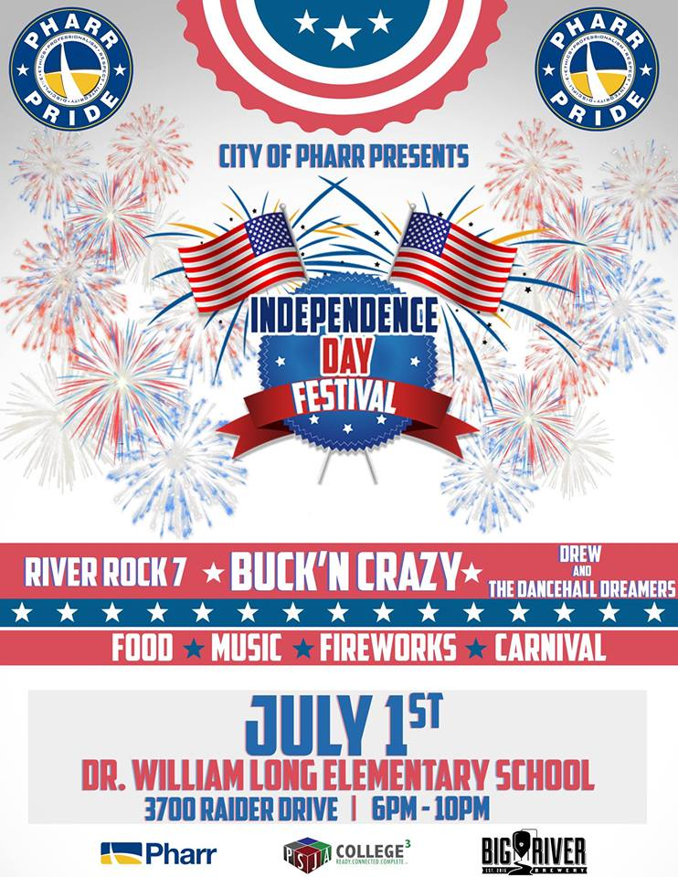 City of Pharr 4th of July Independence Day Festival