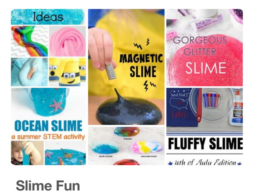 Slime Fun on Pinterest