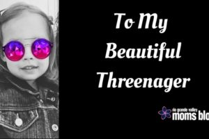 To My BeautifulThreenager