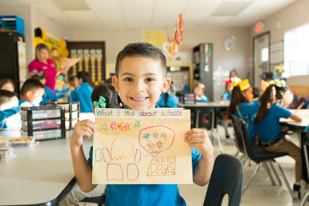 IDEA Public Schools believes the road to college starts at a young age.