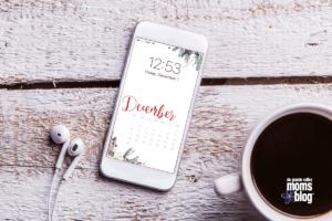 Hello December Cell Phone Wallpaper RGV Moms Blog