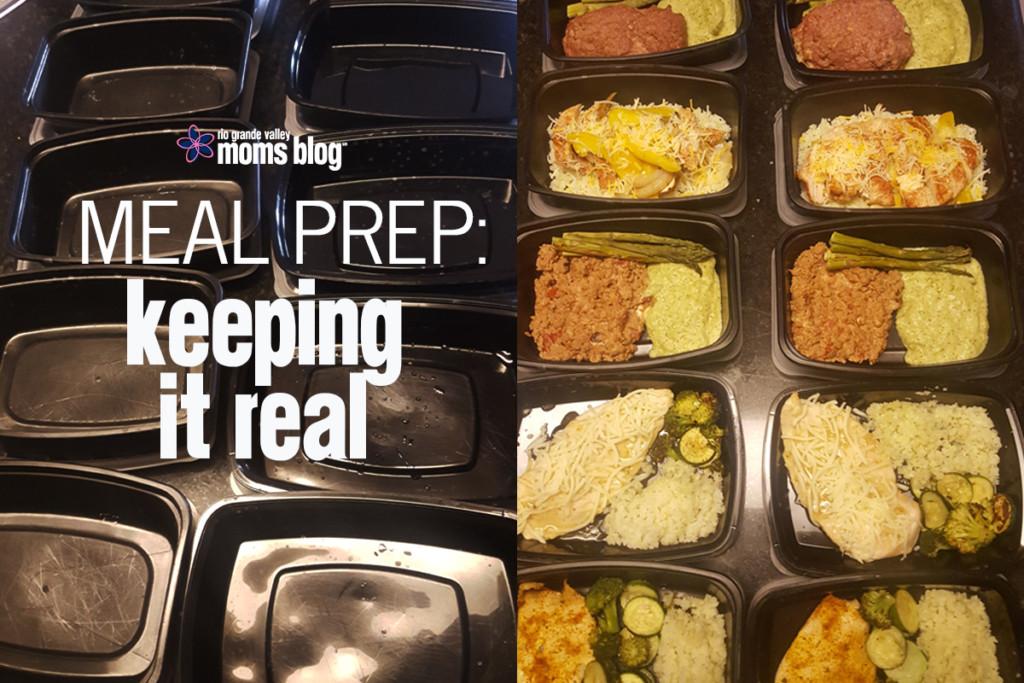 Meal Prep: Keeping It Real