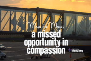 Missed Opportunity Compassion