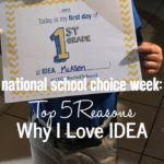 National School Choice Week: Top 5 Reasons Why I Love IDEA