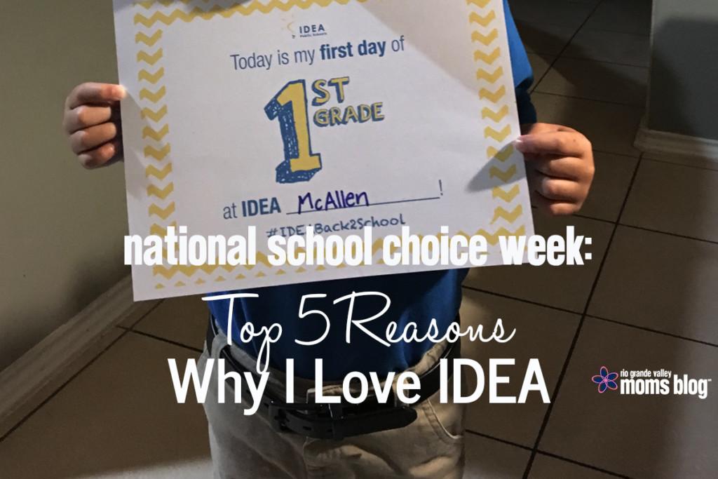 School Choice IDEA