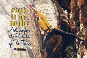 Stuck in the Middle: Advice for Pre-Teens