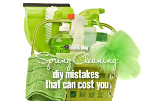 DIY Spring Cleaning Mistakes