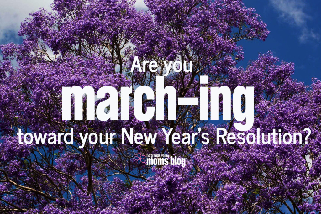 March - ing Toward Resolution