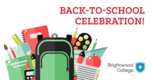 Brightwood College Back to School