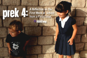 PreK 4 Reflection First