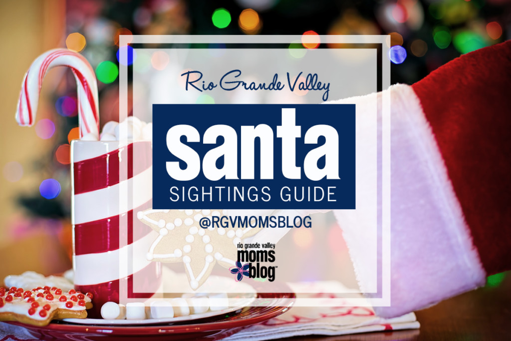 RGV Santa Sightings Guide 2018