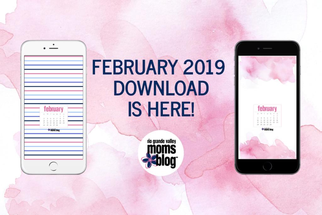 February 2019 RGVMB Phone Background Calendars