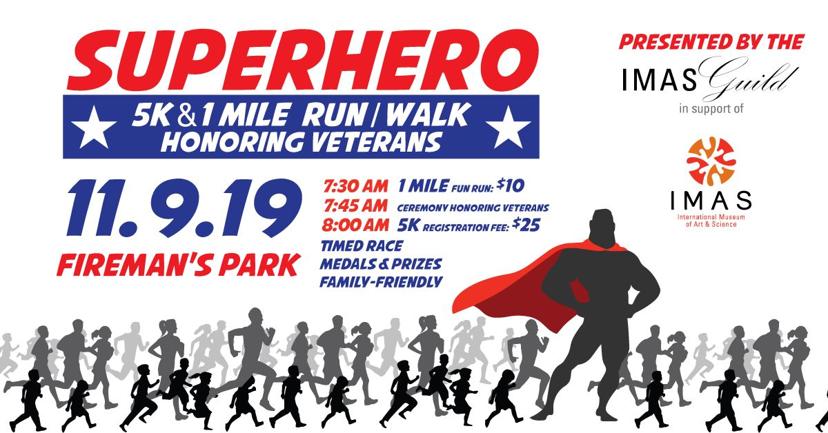 IMAS Superhero 5K Run/Walk (McAllen)