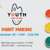 Youth Art Class Paint Making at IMAS