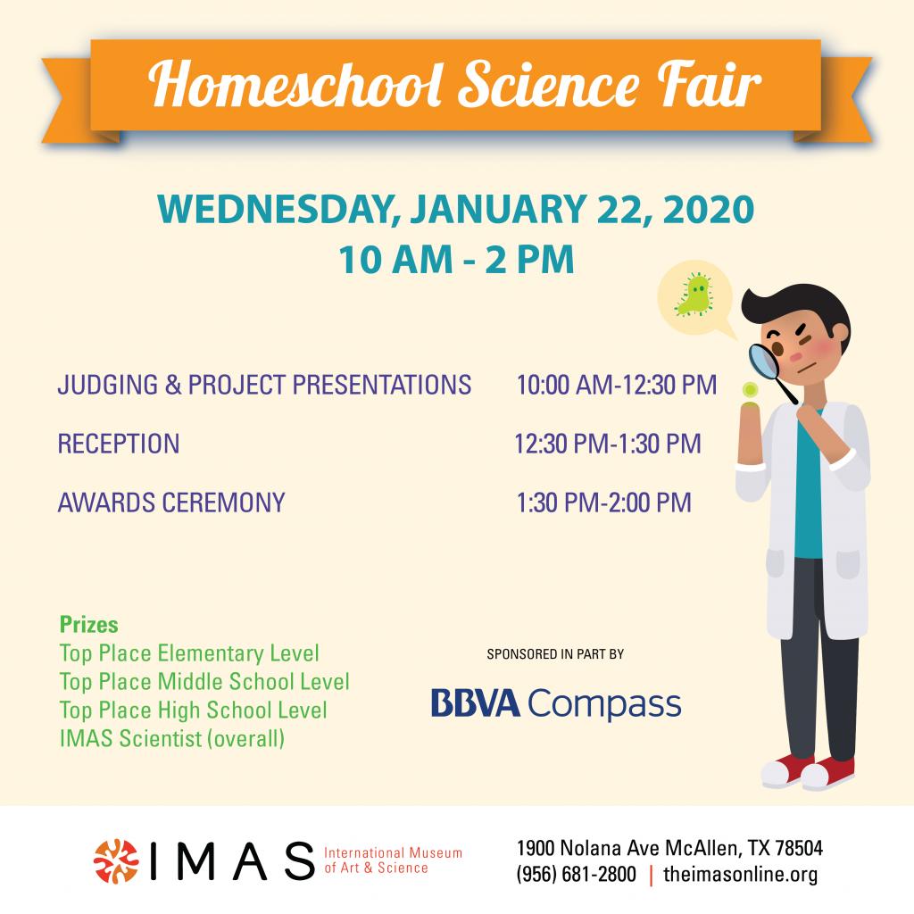 IMAS Homeschool Science Fair