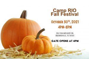 camp rio fall festival brownsville