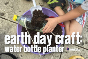 Earth Day Craft Water Bottle Planter
